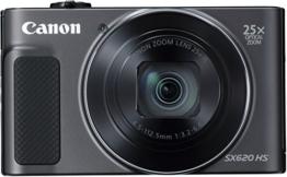 Canon PowerShot SX620 HS Digitalkamera (20,2 Megapixel, 25-fach optischer Zoom, 50-fach ZoomPlus, 7,5cm (3 Zoll) Display, opt Bildstabilisator, WLAN, NFC) schwarz - 1