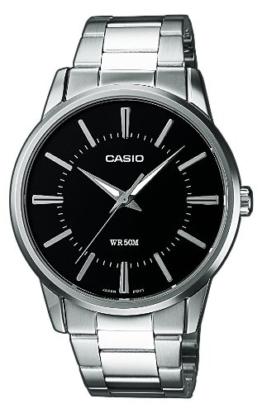 Casio Herren Analog Quarz mit Edelstahl Armbanduhr MTP 1303PD 1AVEF - 1