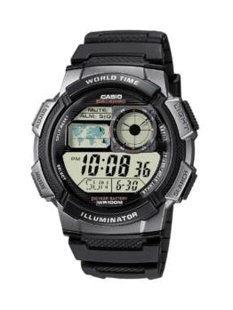 Casio Herren Digital mit Resin Armbanduhr AE1000W1BVEF - 1
