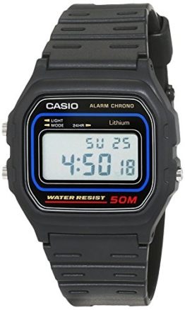 Casio Herren Digital mit Resin Armbanduhr W591VQES - 1