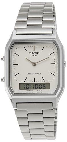Casio Unisex Analog/Digital Quarz mit Edelstahl Armbanduhr AQ230A7DMQYES - 1