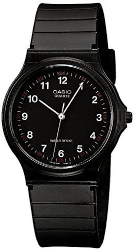 Casio Unisex Analog Quarz mit Resin Armbanduhr MQ241BLLGF - 1