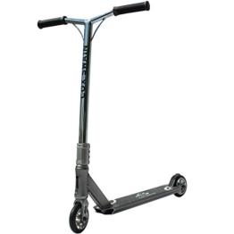 COX SWAIN Stunt Scooter Z-620 mit 110mm Rollen - ABEC9 Lager- ALU Kern Rollen Super Heavy Quality!, Colour: Dark Grey - 1