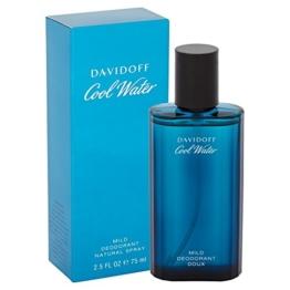 Davidoff Cool Water Deo Spray für Männer, 1er Pack (1 x 75 ml) - 1