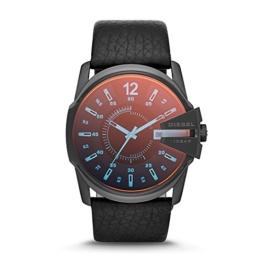 Diesel Herren-Armbanduhr Analog Quarz One Size, schwarz, schwarz - 1