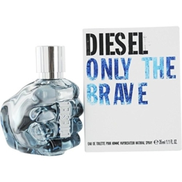 Diesel Only The Brave homme/men, Eau de Toilette, Vaporisateur/Spray, 35 ml - 1
