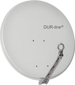 "DUR-line SELECT 75cm Hellgrau - 3 x Test ""Sehr gut"" - Aluminium Satellitenschüssel Parabolantenne - 1"