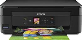 Epson Expression Home XP-342 Tintenstrahl-Multifunktionsdrucker (Drucken, Scannen, Kopieren, WLAN) Schwarz - 1
