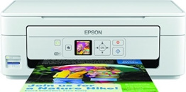 Epson Expression Home ( XP-345 ) 3 in 1TINTENSTRAHL All-in-One (Print, Scan, Copy, Wifi, Single Cartridges – schwarz/weiß - 1