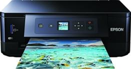 Epson Expression Premium XP-540 3-in-1 Tintenstrahl-Multifunktionsgerät (Drucker, Scanner, Kopierer, WiFi, Duplex, Einzelpatronen) schwarz - 1