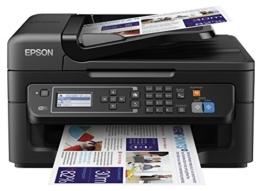 Epson WorkForce WF-2630WF Tintenstrahl-Multifunktionsgerät (Drucker, Scanner, kopieren, Fax, WiFi) schwarz - 1