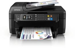 Epson WorkForce WF-2760DWF 4-in-1 Multifunktionsdrucker (Drucken, Duplex, Scannen, Kopieren, Faxen, WiFi, Dokumenteneinzug) schwarz - 1