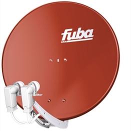 Fuba DAA 850 Satellitenspiegel 85cm Rot - 1