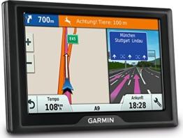 Garmin Drive 40 CE Navigationsgerät - lebenslange Kartenupdates, Premium Verkehrsfunklizenz, 4,3 Zoll (10,9cm) Touchscreen - 1