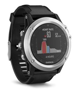 Garmin fenix 3 HR GPS-Multisport-Smartwatch, Herzfrequenzmessung am Handgelenk, zahlreiche Navigations- & Sportfunktionen, GPS/GLONASS - 1