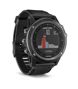 Garmin fēnix 3 HR Saphir GPS-Multisportuhr, Herzfrequenzmessung am Handgelenk, zahlreiche Sport- & Navigationsfunktionen - 1