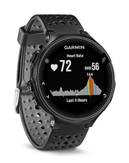Garmin Forerunner 235 WHR Laufuhr, 24/7 Herzfrequenzmessung am Handgelenk, Smart Notifications, Aktivity Tracker, 1,2 Zoll (3cm) Farbdisplay - 1