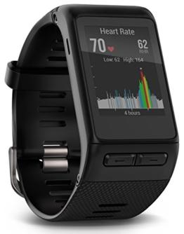 Garmin vivoactive HR Sport GPS-Smartwatch - integrierte Herzfrequenzmessung am Handgelenk, diverse Sport Apps, Smart Notification, Activity Tracker, 1,5 Zoll (3,8cm) Farbdisplay - 1