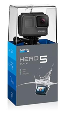GoPro HERO5 Black Action Kamera (12 Megapixel) schwarz/grau - 1