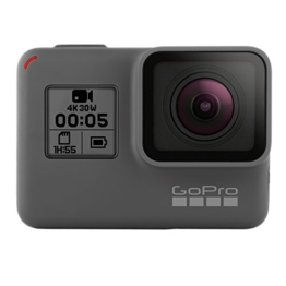GoPro HERO5 Black Action Kamera (12 Megapixel) schwarz/grau (DE-Version) - 1