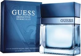 Guess Seductive Homme Blau EDT Spray 50 ml, 1er Pack (1 x 0.05 l) - 1