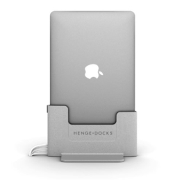 Henge Metall Dockingstation für 38,1cm Apple MacBook Pro Retina–Grau - 1