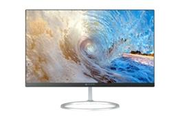HKC Mircomax MM238HHDM1HA LED FHD PLS 24 Zoll (1.8mm Rahmen, 6.5mm Tief) Breitbild-Bildschirm (1920x1080, 4mS, VGA, HDMI Anschlüsse) - Schwarz, Metallständer - 1