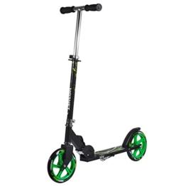 Hornet 14929 - Scooter Roller GS 205, Tret-Roller Big Wheel, neon-grün - 1