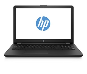 HP 15-bs025ng 2BT32EA 39,6 cm (15,6 Zoll) Notebook (Intel Celeron N3060, 4GB RAM, 1TB HDD, Intel HD-Grafikkarte 400, FreeDOS 2.0) schwarz - 1