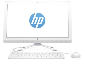 HP 22-b050ng (X0Y27EA) 54,6 cm (21,5 Zoll / FHD IPS) All in One Desktop PC (AMD Quad-Core A6-7310 APU, 4GB RAM, 1 TB HDD, AMD Radeon R4-Grafikkarte, Windows 10 Home 64) weiß - 4