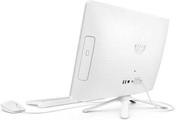 HP 22-b050ng (X0Y27EA) 54,6 cm (21,5 Zoll / FHD IPS) All in One Desktop PC (AMD Quad-Core A6-7310 APU, 4GB RAM, 1 TB HDD, AMD Radeon R4-Grafikkarte, Windows 10 Home 64) weiß - 7