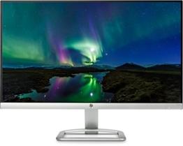 HP 24er T3M80AA 60,96 cm (24 Zoll) Monitor (VGA, HDMI, 7ms grau zu grau Reaktionszeit) silber/weiß - 1