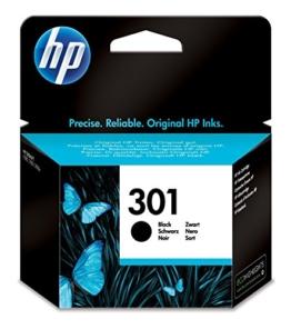 HP 301 Schwarz Original Druckerpatrone für HP Deskjet, HP ENVY, HP Photosmart - 1
