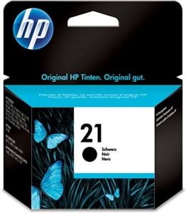HP C9351AE Tintenpatrone Nr. 21 schwarz (190 Seiten) - 1