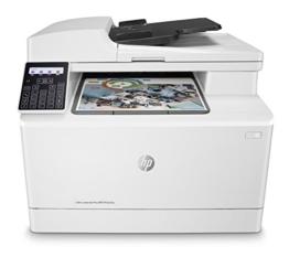 HP Color LaserJet Pro M181fw Multifunktions-Farblaserdrucker (Drucker, Scanner, Kopierer, Fax, WLAN, LAN, Duplex, Airprint) weiß - 1