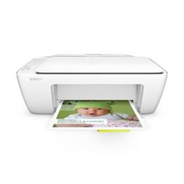 HP Deskjet 2130 (F5S40B) All-in-One Multifunktionsdrucker (A4 Drucker, Scanner, Kopierer, Hi-Speed USB 2.0, Druckauflösung: 4.800 x 1.200 dpi) weiß - 1