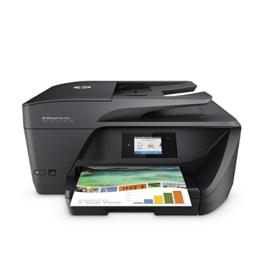 HP OfficeJet Pro 6960 Multifunktionsdrucker (Scanner, Kopierer, Fax. HP Instant Ink ready, WLAN 600x1200 dpi) schwarz - 1