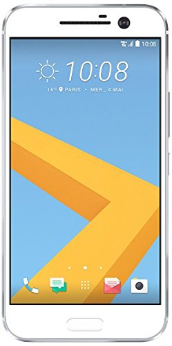 HTC 10 Smartphone (13,2 cm (5,2 Zoll) Super LCD 5 Display, 1440 x 2560 Pixel, 12 Ultrapixel, 32 GB, Android) glacier silber - 1