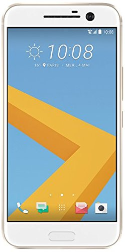 HTC 10 Smartphone (13,2 cm (5,2 Zoll) Super LCD 5 Display, 1440 x 2560 Pixel, 12 Ultrapixel, 32 GB, Android) topaz gold - 1