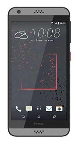 HTC 99HAHW033-00 Desire 530 Smartphone (4G) Dark grau - 1
