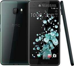 HTC 99HALT015-00 U Ultra Full HD Smartphone (13,2 cm (5,7 Zoll), 16 MP Frontkamera, 64GB Speicher, Android) brilliant-schwarz - 1