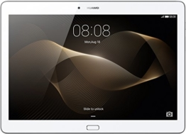 HUAWEI MediaPad M2 10.0 LTE 25,6 cm (10,1 Zoll) Tablet-PC (HiSilicon Kirin 930 64-bit Octa-Core Prozessor, 2 GB RAM, 16 GB interner Speicher, Android 5.1, EMUI 3.1) silber - 1