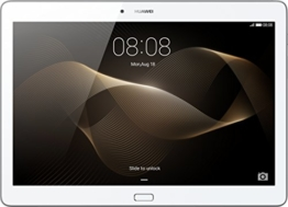 Huawei MediaPad M2 Standard 25,4 cm (10 Zoll) WiFi Tablet-PC (ARM Hisilicon Kirin 930, 2GB RAM, 16GB eMMc , Android Touchscreen) weiß/silber - 1