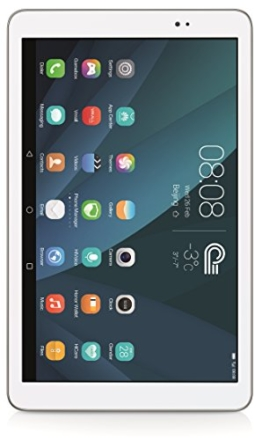 Huawei MediaPad T1 10.0 LTE 24,4 cm (9,6 Zoll) Tablet-PC (Qualcomm MSM8916, 1,2GHz, 1GB RAM, 16GB HDD, Android 4.4) weiß - 1