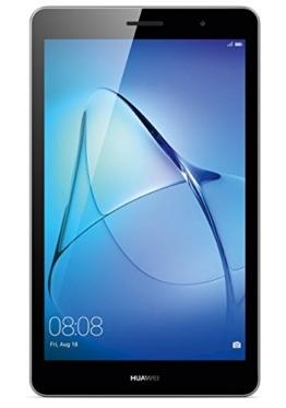 HUAWEI MediaPad T3 8 WiFi 20,3 cm (8,0 Zoll) Tablet-PC (hochwertiges Metallgehäuse, Qualcomm™ Quad-Core Prozessor, 2 GB RAM, 16 GB interner Speicher, Android 7.0, EMUI 5.1) grau - 1
