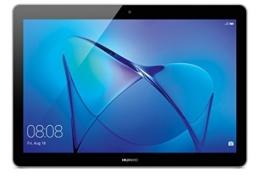 HUAWEI MediaPad T3 LTE 24,3 cm (9,6 Zoll) Tablet-PC (hochwertiges Metallgehäuse, Qualcomm™ Quad-Core Prozessor, 2 GB RAM, 16 GB interner Speicher, Android 7.0, EMUI 5.1) grau - 1