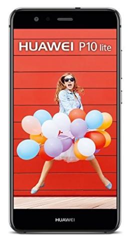 HUAWEI P10 lite Smartphone (13,2 cm (5,2 Zoll) Full-HD Display , 32 GB, Android 7.0 Nougat mit HUAWEI Emotion UI 5.1) Schwarz - 1