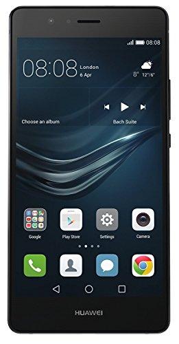 Huawei P9 lite Smartphone (13,2 cm (5,2 Zoll) Touch-Display, 16GB interner Speicher, 3GB RAM, Android 6) schwarz - 1