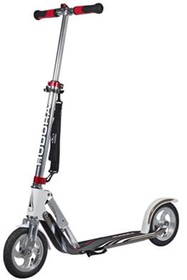 HUDORA Big Wheel Air GS 205 Luftreifen-Scooter, silber/weiß - Tret-Roller - 14005 - 1