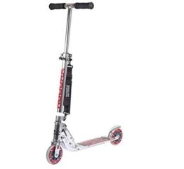 HUDORA Big Wheel Scooter 125 mm, Kinder Scooter - Kinder Roller , silber, 14200 - 1